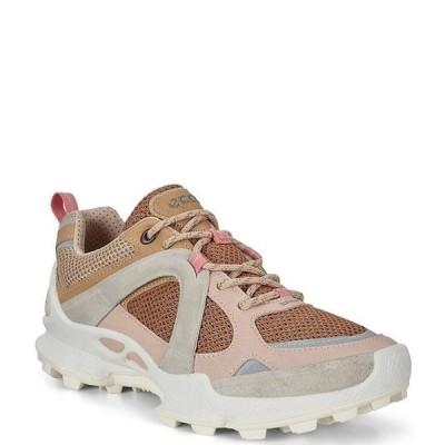 エコー レディース スニーカー シューズ Biom C-Trail Colorblock Textile & Leather Sneakers