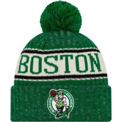 ニューエラ メンズ 帽子 アクセサリー New Era Men's Boston Celtics Sports Knit Hat -