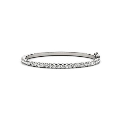 【新品】14K イエローゴールド ダイヤモンド バングル ブレスレット バリューコレクション