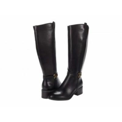 Tommy Hilfiger トミー ヒルフィガー レディース 女性用 シューズ 靴 ブーツ ロングブーツ Diwan 3 Wide Calf Black【送料無料】