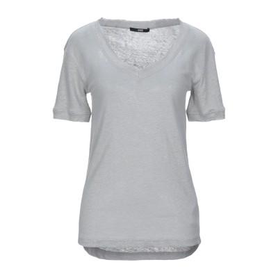 SLY010 T シャツ ライトグレー XXS リネン 100% T シャツ