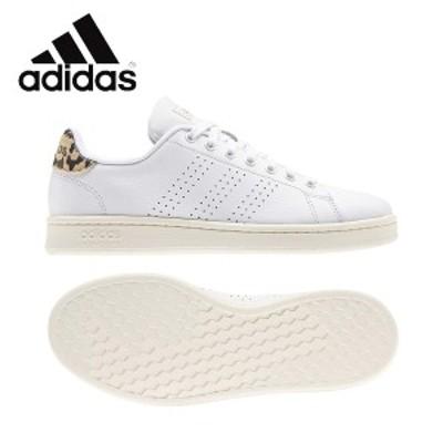 adidas アディダス ADVANCOURT LEA W グランドコートレザー トレーニングシューズ レディス