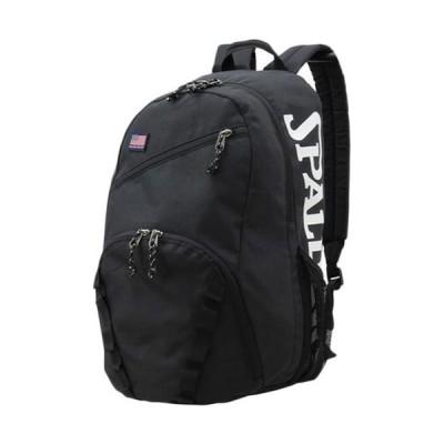 スポルディング(SPALDING) バックパック バスケットボール ハーフデイ ブラック 50-003BK リュックサック バッグ 部活 遠征 合宿 練習 普段使い