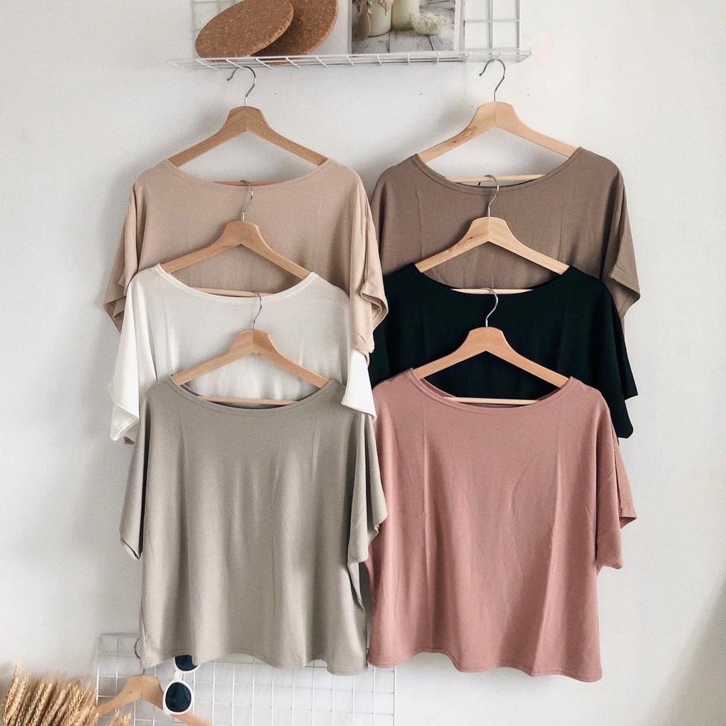 DoMiss看起來普通穿上不簡單-6色 韓國T恤(現+預)