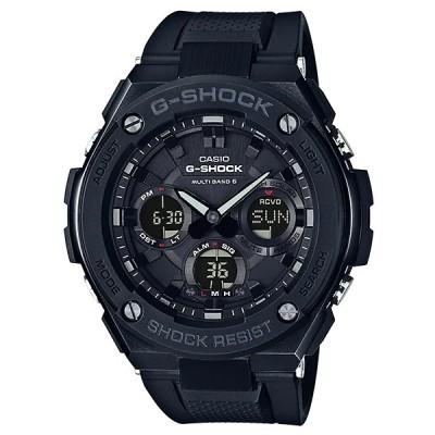 G-SHOCK Gショック ジーショック G-STEEL Gスチール カシオ CASIO 電波 ソーラー アナデジ 腕時計 ブラック GST-W100G-1BJF 国内正規モデル