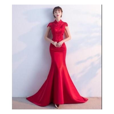お呼ばれドレス 同窓会 韓国風 可愛い 着痩せ 結婚式 ウェディングドレス お嬢様 パーティードレス レディース ロング丈ワンピース 結婚式 二次会 花嫁ドレス
