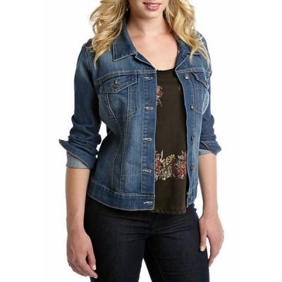 ジェシカシンプソン レディース ジャケット・ブルゾン アウター Plus Size Denim Pixie Jacket