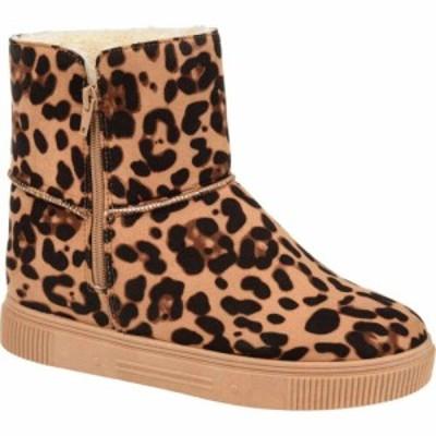ジュルネ コレクション Journee Collection レディース ブーツ シューズ・靴 Comfort Foam(TM) Stelly Winter Boot Leopard
