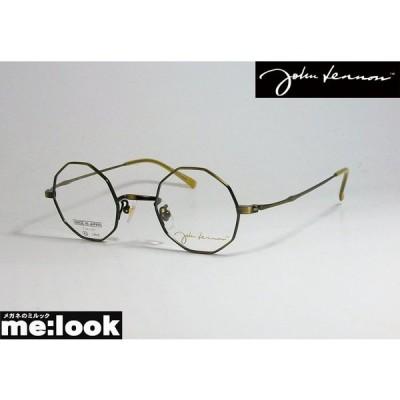 John Lennon ジョンレノン 日本製 made in Japan 丸メガネ クラシック 眼鏡 メガネ フレーム JL1087-2-43 度付可 アンティークブロンズ