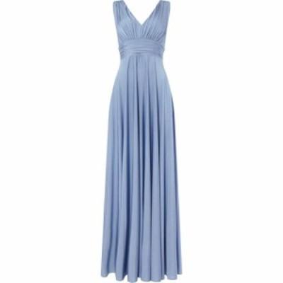 ビバ Biba レディース ワンピース マキシ丈 ワンピース・ドレス Deep V Maxi Dress Mineral Blue