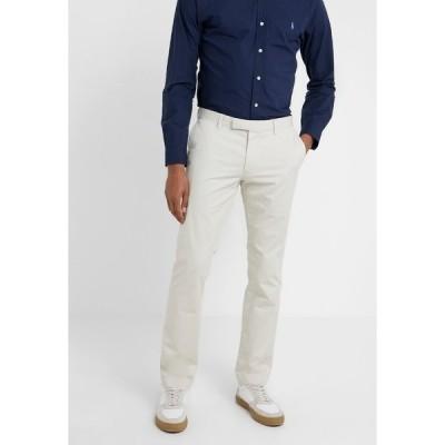 ラルフローレン カジュアルパンツ メンズ ボトムス FLAT PANT - Trousers - sand
