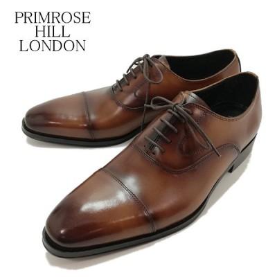 プリムローズヒル ロンドン 紐付き ストレートチップ 内羽根式 ビジネス 紳士靴 メンズ 1511 3E