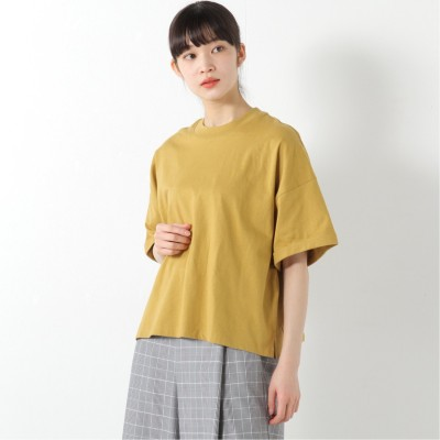インナーにも◎リブ付きワイドTシャツ