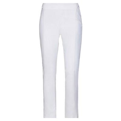 ブルマリン BLUMARINE パンツ ホワイト 40 コットン 60% / ナイロン 37% / ポリウレタン 3% パンツ
