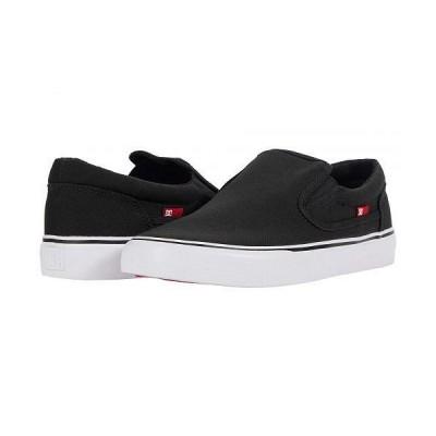 DC ディーシー メンズ 男性用 シューズ 靴 スニーカー 運動靴 Trase Slip-On TX - Black/White