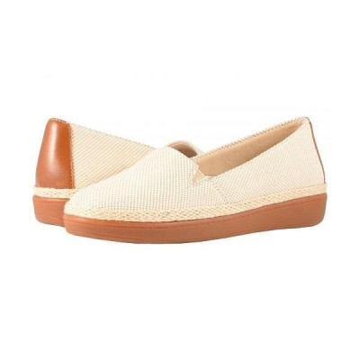 Trotters トロッターズ レディース 女性用 シューズ 靴 ローファー ボートシューズ Accent - Natural/Rust Linen/Smooth Man Made