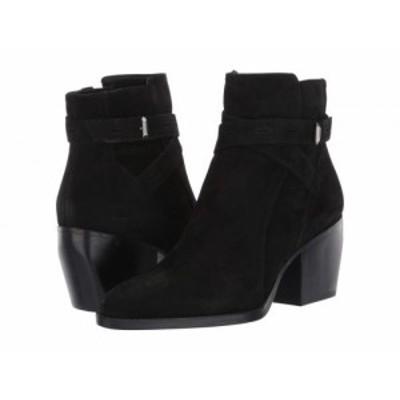 Naturalizer ナチュラライザー レディース 女性用 シューズ 靴 ブーツ アンクル ショートブーツ Fenya Black Nubuck【送料無料】