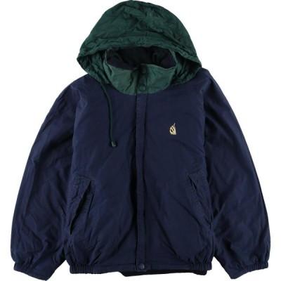 ノーティカ NAUTICA リバーシブル フード収納型 フリースジャケット セーリングジャケット メンズXL /eaa103341