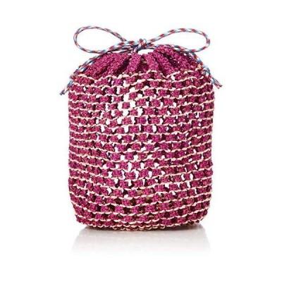 [カカトゥ] ショルダーバッグ カラーコードサイザル巾着バッグ レディース PIRE
