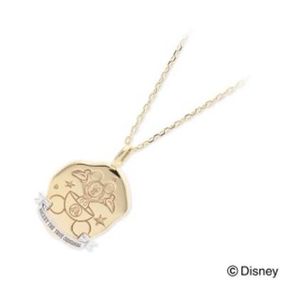 ネックレス レディース Disney Accessory イエローゴールド 誕生日プレゼント ギフト