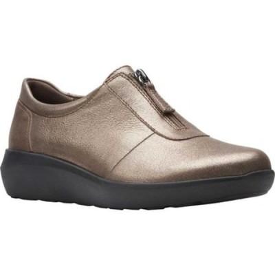 クラークス レディース スニーカー シューズ Kayleigh Sail Sneaker Metallic Leather