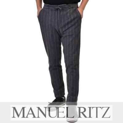 マニュエルリッツ ウール混イージーパンツ MANUEL RITZ 2532P1688M 97 グレー