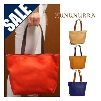 SALE セール 50%OFF kununurra/カナナラ レザートートバッグ