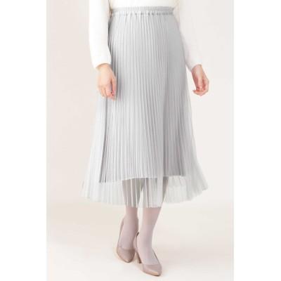 NATURAL BEAUTY プリーツリバースカート