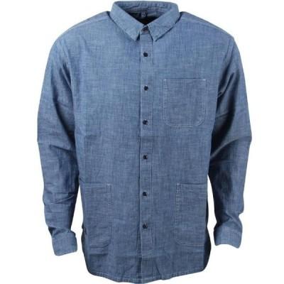 テンディープ メンズ 服  10 Deep Men Garment Supply Chambray Shirt (blue / stone wash)