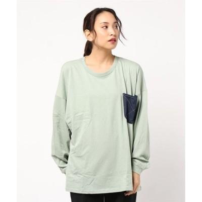 tシャツ Tシャツ オーバーサイズ長袖Tシャツ(大人)