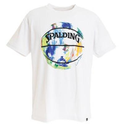Tシャツ メンズ 半袖 マーブルボール SMT191200WM 【 バスケットボール ウェア 】