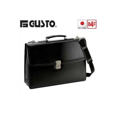 ノベルティプレゼント ビジネスバッグ カブセ クラッチバッグ メンズ 42cm B4F B4ファイル A4 間仕切り付き ショルダーベルト付き G-GUSTO G-ガスト 23472 出…