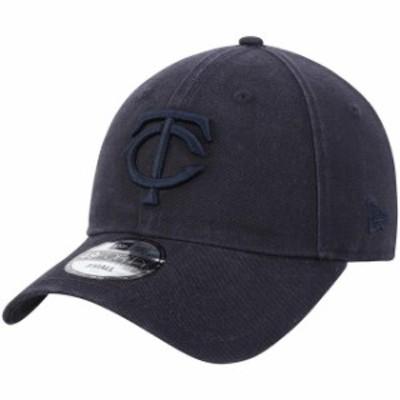 New Era ニュー エラ スポーツ用品  New Era Minnesota Twins Navy Core Tonal 49FORTY Fitted Hat