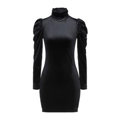 ベルナ BERNA ミニワンピース&ドレス ブラック XS ポリエステル 90% / ポリウレタン 10% ミニワンピース&ドレス