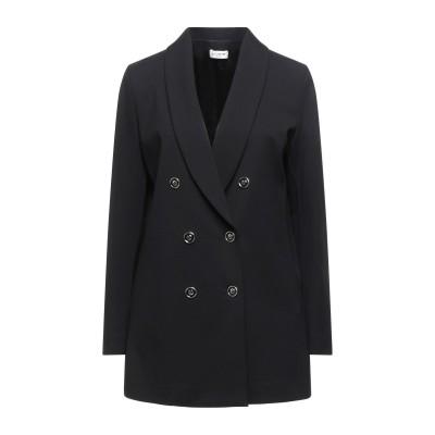 LE COEUR TWINSET テーラードジャケット ブラック XS レーヨン 60% / ナイロン 35% / ポリウレタン 5% テーラードジ