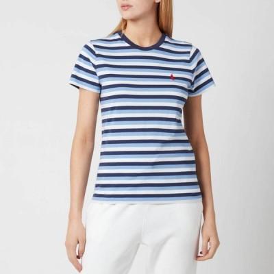 ラルフ ローレン Polo Ralph Lauren レディース Tシャツ トップス Stripe Short Sleeve T-Shirt - Blue/Navy/White Blue/White