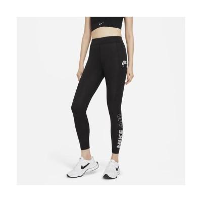 (取寄)ナイキ レディース エア HR レギンス Nike Women's Air HR Leggings Black White 送料無料