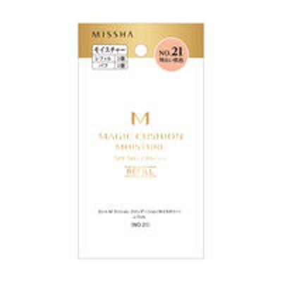 ミシャ・ジャパンMISSHA(ミシャ) M クッションファンデーション モイスチャー NO.21(明るい肌色) SPF50+・PA+++ レフィル <韓国コスメ>