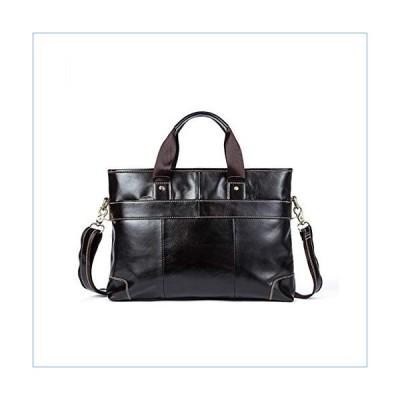 Zhangmeiren Men's Leather Man Bag Briefcase Handbag Retro Solid Color Men's Shoulder Oblique Money Bag並行輸入品