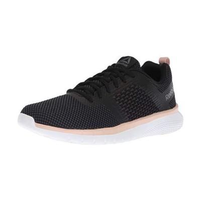 Reebok Women's PT Prime Runner Running Shoe, Black/Bare Beige/Alloy/co, 8.5 M US【並行輸入品】
