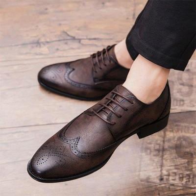 ビジネスシューズ ローファー メンズ スリッポン ビジネス ストレートチップ 靴 PU革靴 紳士靴 シューズ ポイント消化オシャレ