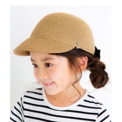 babybaby / 【POMPKINS / ポプキンズ】バックリボンキャップ KIDS 帽子 > キャップ
