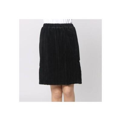フェリシモサーカス FelissimoCircus シャルロットケーキみたいなふわもこスカート (ブラック)