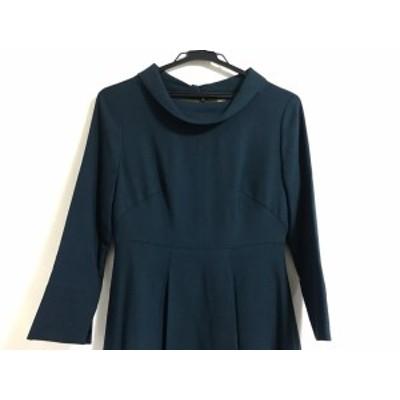 ホコモモラ JOCOMOMOLA ワンピース サイズ40 XL レディース グリーン【中古】20200428