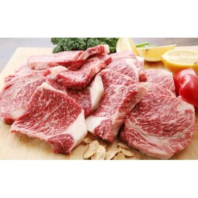 個包装で便利♪成熟但馬牛 ロースステーキ1,400g(12~16枚)■食べやすいハーフサイズ!【配送不可:離島】