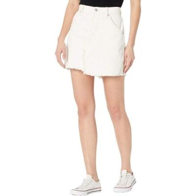 フリーピープル Free People レディース スカート Brea Cutoffs Skirt Deco White