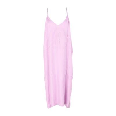 MARKEYLF 7分丈ワンピース・ドレス ライラック 12 キュプラ 60% / レーヨン 40% 7分丈ワンピース・ドレス