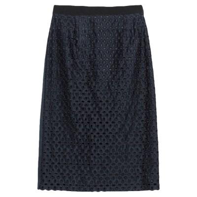 マルコ ボローニャ MARCO BOLOGNA 7分丈スカート ダークブルー 46 ポリアクリル 100% 7分丈スカート