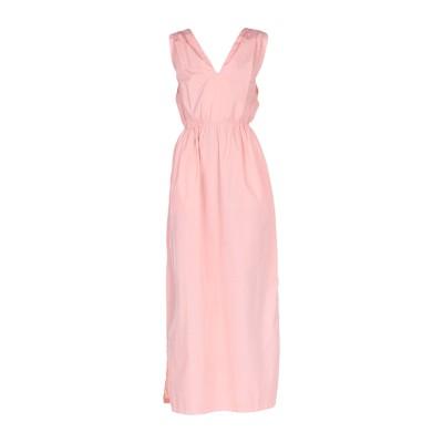 バレナ BARENA ロングワンピース&ドレス ピンク 44 コットン 100% ロングワンピース&ドレス