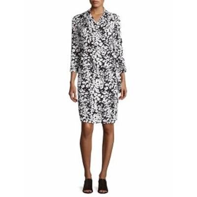 ラファイエット148ニューヨーク レディース ワンピース Reva Printed Belted-Waist Dress